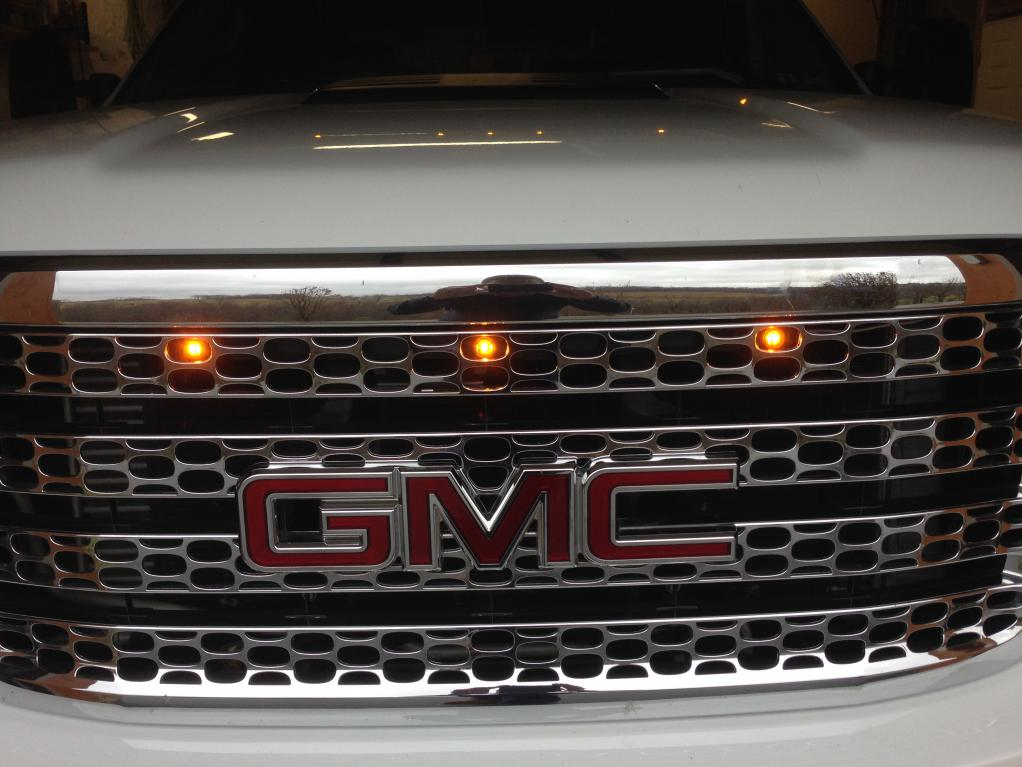 Raptor Style Led Grille Lights Amp Marker Interrupt Chevy