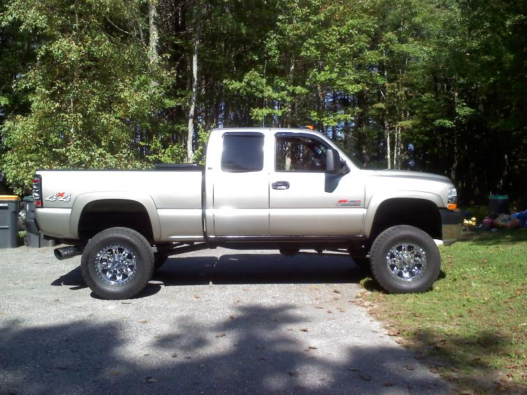 6 Inch Lift With 35s On 20s Chevy And Gmc Duramax Diesel Forum